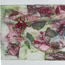 Untitled 2 : Collagraph : Angie Brudnell