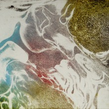 Ice Patterns : Solar Etching : Annabelle Deutsch