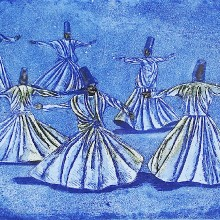 Whirling Dervishes, Konya : Patrick Whitehead